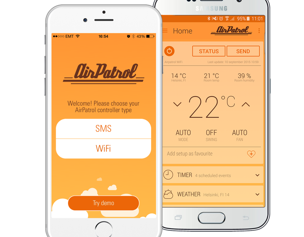 AirPatrol WiFi App