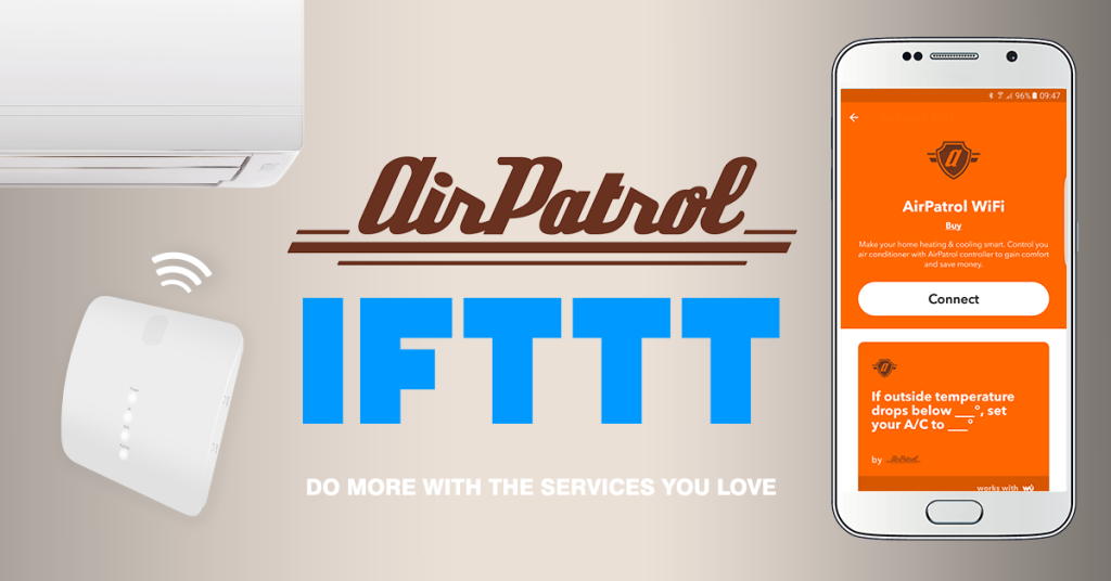 AirPatrol WiFi Launches on IFTTT - AirPatrol Smart Home Blog